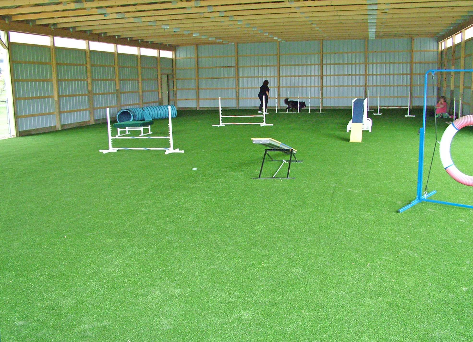 Pavilion's First Use with Agility Equipment